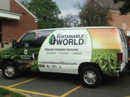 The Sustainable World Tour Van